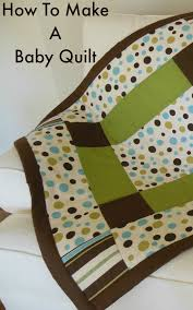 Duvet For Babies How To Make A Baby Quilt So Sew Easy