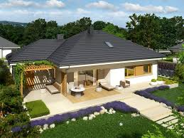 Contemporary One Story House Plans by Contemporary Breathtaking Single Storey House Plan Amazing
