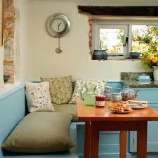 Country Kitchen Table by Be Inspired By This Blue Country Kitchen Makeover Ideal Home