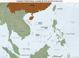 South China Sea On Map by Chinese Military Installations In The South China Sea