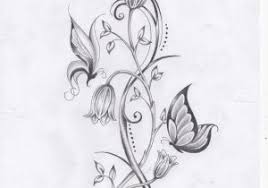 butterflies and flower tattoos 1000 ideas about flower and