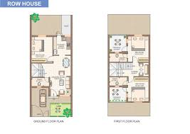 row house floor plan overview ranwara at hingna noble infratech pvt ltd hingna