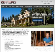 Free Website For Home Design by Home Inspection Web Design Sample Websites For Home Inspectors