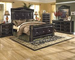 Ashley Furniture Bedroom Nightstands Coal Creek Dark Brown Three Drawer Night Stand B175 93