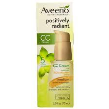 aveeno active naturals positively radiant cc cream spf 30