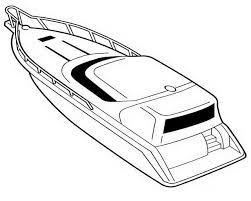 drawn boat colouring page pencil and in color drawn boat