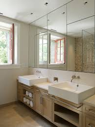 Wood Bathroom Medicine Cabinets With Mirrors by Recessed Medicine Cabinet In Bathroom Victorian With Wood Trim