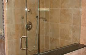 bath shower ideas modern shower features dark brown square