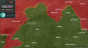Syria Control Map by Map The Military Situation In Northeast Damascus Syria