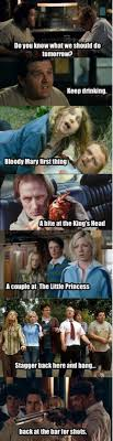 Shaun Of The Dead Meme - shaun of the dead ed foreshadows all of the events that will