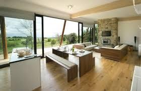 salon salle a manger cuisine design dintarieur maison aire ouverte salon salle manger moderne