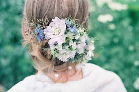 wedding hair flowers delicate and seasonal wedding hair flowers beautiful