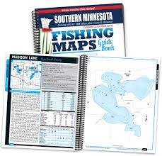 Minnesota Zip Code Map by Southern Minnesota Fishing Map Guide 9781885010360 Amazon Com Books