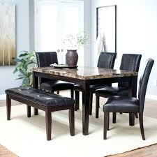 bench kitchen table sets round dining photo 1 nook set with room