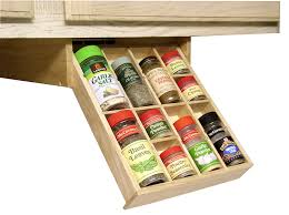 Under Cabinet Kitchen Storage by Amazon Com Under Cabinet Shelf Kitchen Storage Spice Rack K Cup