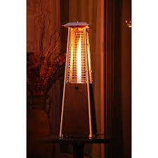 Table Top Patio Heaters Propane Hanover Mini Pyramid 9500 Btu Propane Tabletop Patio Heater