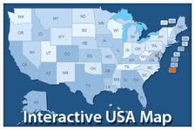 interactive map of the us candle by art101 videohive