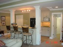Kitchen Design On A Budget Impressive Small Basement Ideas Design With Kitchen Bar Small