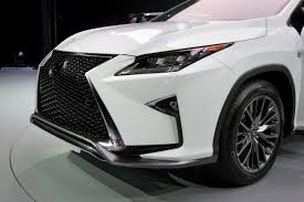 lexus crossover 2016 2016 lexus rx gets new face gutsier engines autoguide com news
