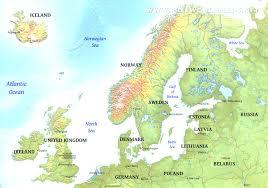 Amsterdam Map Europe by Map Of Europe Also Geography Europe Map Evenakliyat Biz
