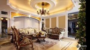 interior gleaming living room with low sofa set and stunning