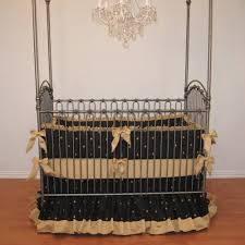 Black And Gold Crib Bedding Black And Gold Crib Bedding Sweet Lullaby Baby Baby Bedding