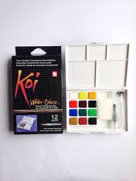 sakura koi watercolor field sketch kit 12 colors u2013 sketches my
