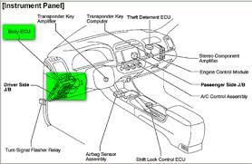 toyota body control module location questions u0026 answers with