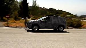 renault duster 2018 2018 dacia duster first spy video pops up