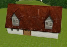 Gable Dormer Windows Sims 3 Home Tutorials Roof Tool Techniques