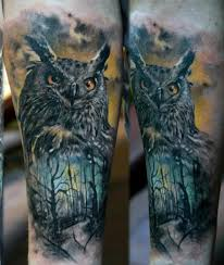 owl tattoos are massively popular with both and