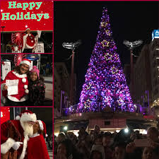 gallery tree lighting ceremony at national harbor wjla