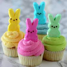 peeps cupcakes easy easter cupcakes easter dessert recipes