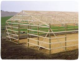 How To Build A Wood Floor With Pole Barn Construction by Post Frame Advantages U2014 Cleary Building Corp