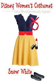 Snow White Halloween Costume Women Diy Snow White Costume Regular Clothes Wear
