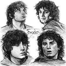 frodo sketches by manweri on deviantart
