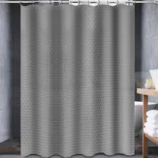72 X 78 Fabric Shower Curtain Avalon 70 Inch X 72 Inch Shower Curtain In White Bath Garage