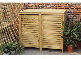 Outdoor Storage Cabinet Wooden Outdoor Storage Closet