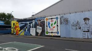 reconciling peace vds voices vanderbilt university a wall of murals on falls rd a catholic republican neighborhood