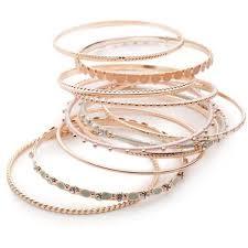rose bangle bracelet images Add the perfect rose gold bangle bracelet to your style bingefashion jpg