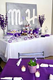 bridal shower centerpiece ideas purple bridal shower decorations wedding party decoration