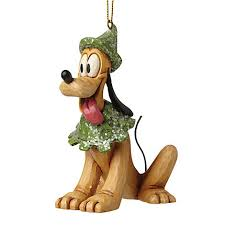 disney traditions pluto hanging ornament