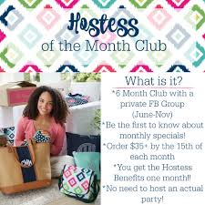 month club hostess of the month club mommaneedsanewbag