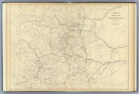 Maps Of Colorado Drainage Map Of Colorado David Rumsey Historical Map Collection