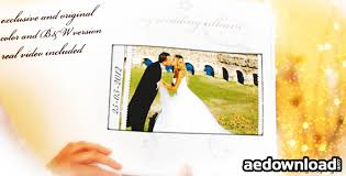 project wedding album wedding album memories project for after effects videohive