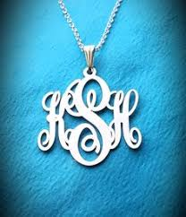 My Monogram Necklace So Excited To Recieve This From Http Www Mymonogramnecklace Com