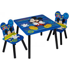 mickey mouse kids table disney mickey mouse kids table and chairs children playroom bedroom