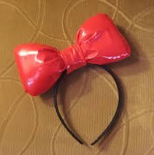 hello headband hello big plush bow headband kittyinthebox clothing