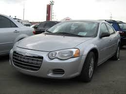 2004 chrysler sebring pictures 2700cc gasoline ff automatic