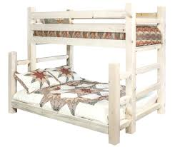 Timber Bunk Bed Homestead Timber Frame Bunk Beds Stained Lacquered Or Ready To